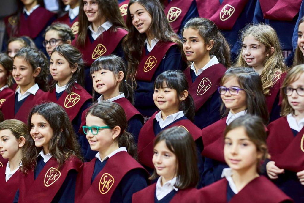 Estudiantes de la Institución educativa SEK