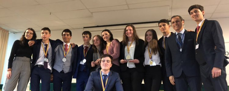 SEK-Ciudalcampo and student Rebecca Giachini champions of the 2nd  CICAE-UCJC Debate League Qualifying Tournament c0bacb5b33