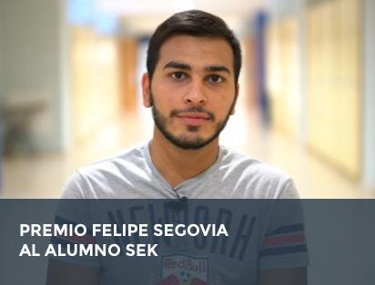 Premio Felipe Segovia al alumno SEK